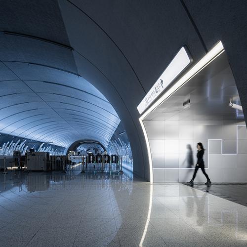 上海地铁15号线吴中路站